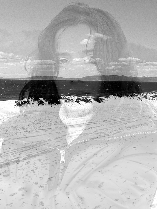 dupla_exposição_retrato_praia_photo_double_exposure_portrait_beach