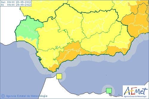 El tiempo en Almería - provincia