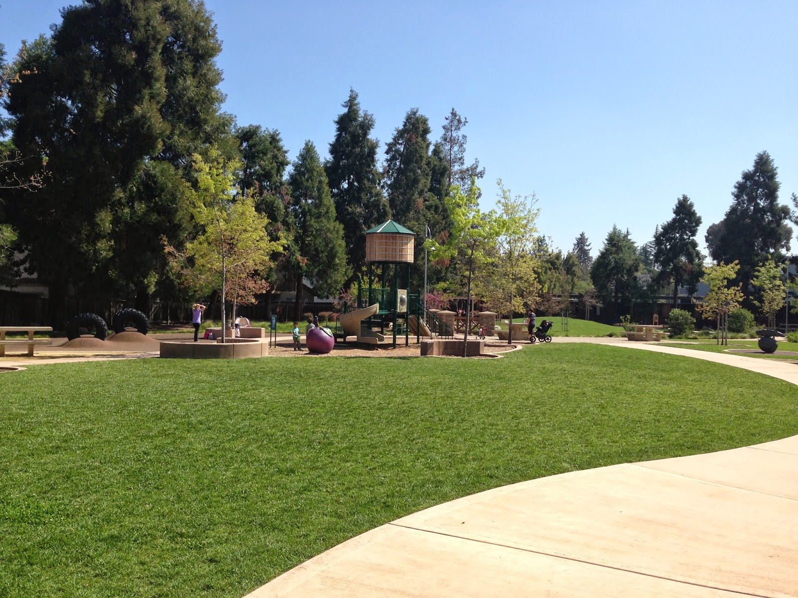 Silicon Valley Toddler Playground Review Stojanovich Family Park