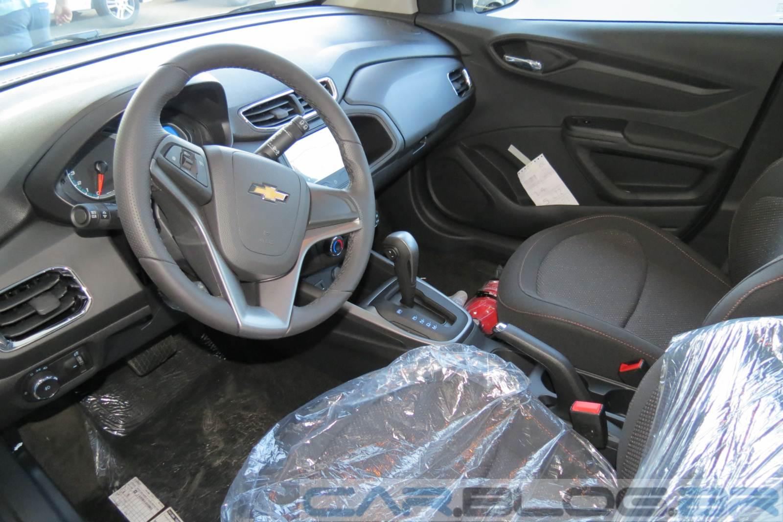 Chevrolet Onix LTZ 2015 - interior