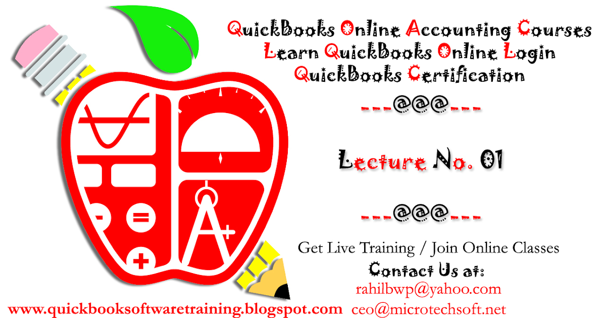 Quickbooks Online Accounting Courses Learn Quickbooks Online Login