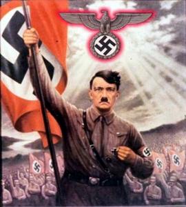 Propaganda Nazi, Hitler desfilando