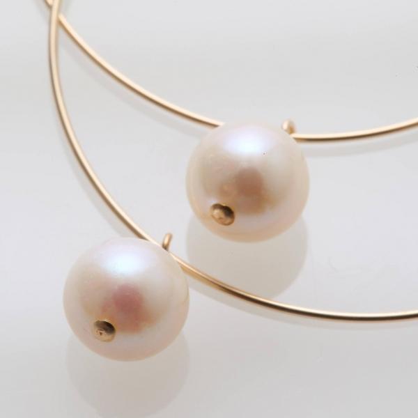 RIVA GOSSI / リバゴッシ ピアス CANDY Hoop Pearl