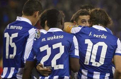 Espanyol-Deportivo 2-0