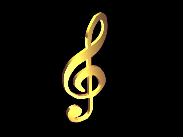 Скрипичный ключ картинка 6