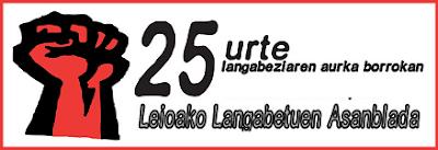 Bizkaiko langabetuen asanbladak – Asambleas de paradxs de Bizkaia