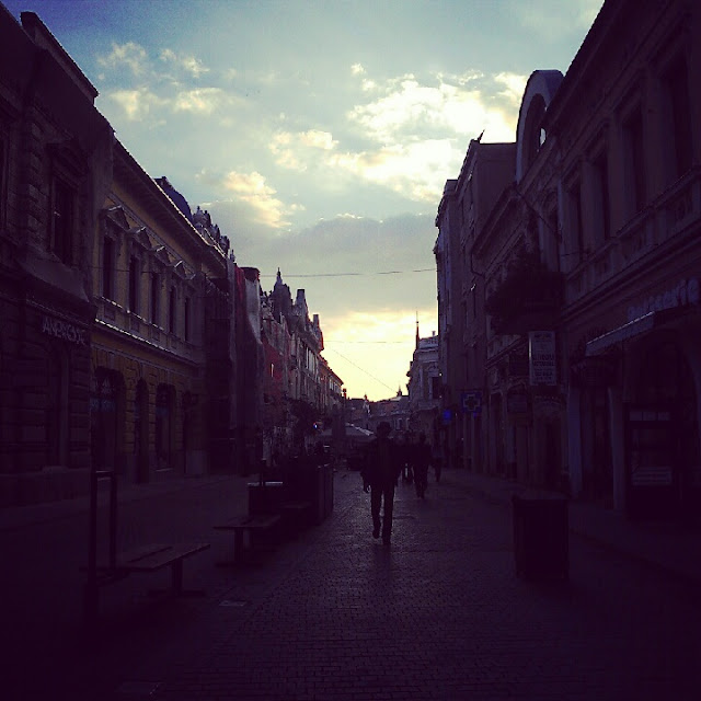 main street of Nagyvarad / Oradea