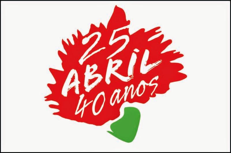4o anos de 25 de Abril
