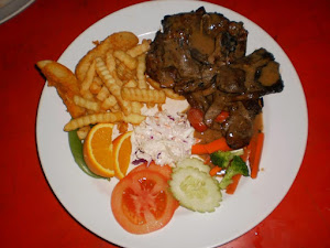 LAMB STEAK SPECIAL