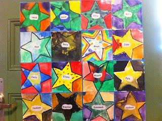 Second Grade Stars