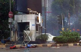 Ledakan Pos Polisi Sarinah