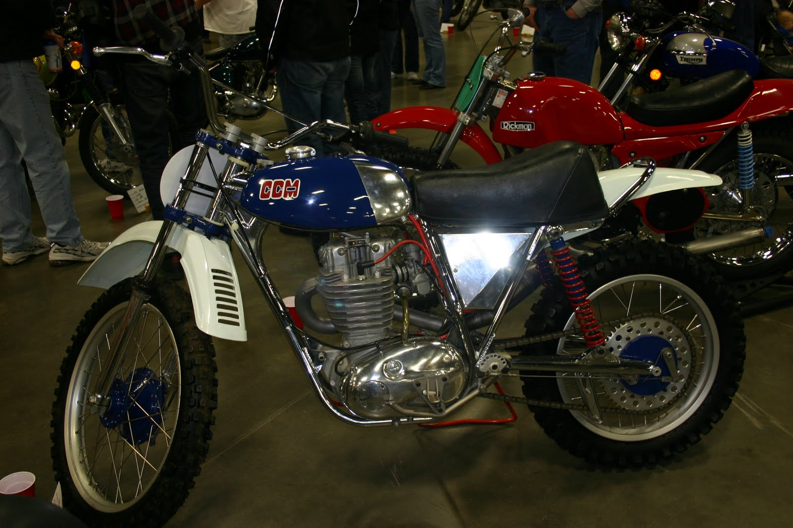Vintage Dirt Motorcycles 2
