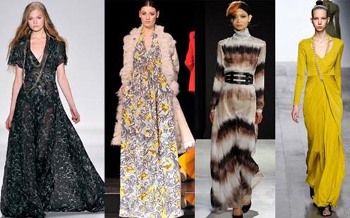 Длинные платья 2015