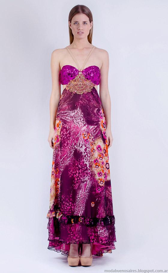 Vestidos 2015 Natalia Antolin. Moda primavera verano 2015.