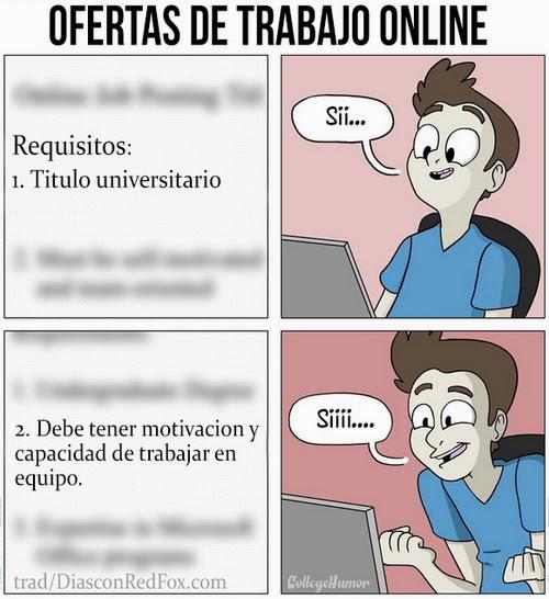 Ofertas de trabajo online