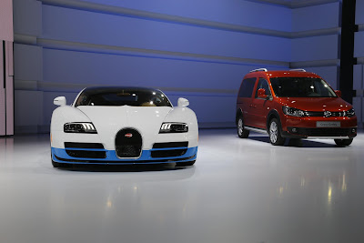 Bugatti and Nasa for More Powerful Veyrons