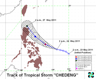 Tropical Strom CHEDENG
