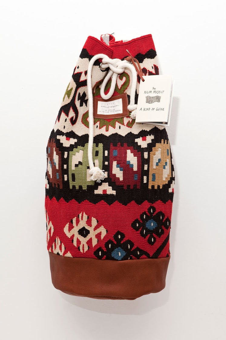 Limited Bag Collection Made Of Hand Knitted Carpets