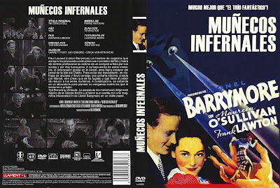 Cover, carátula, dvd:  Muñecos infernales | 1936 | The Devil-Doll