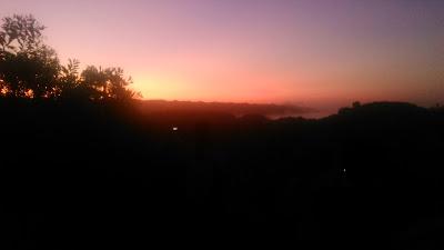 Sunrise di Puncak Kosakora Gunkid
