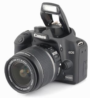 Review kamera Canon EOS 1000d