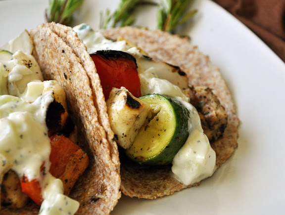 Recipe: Greek tacos