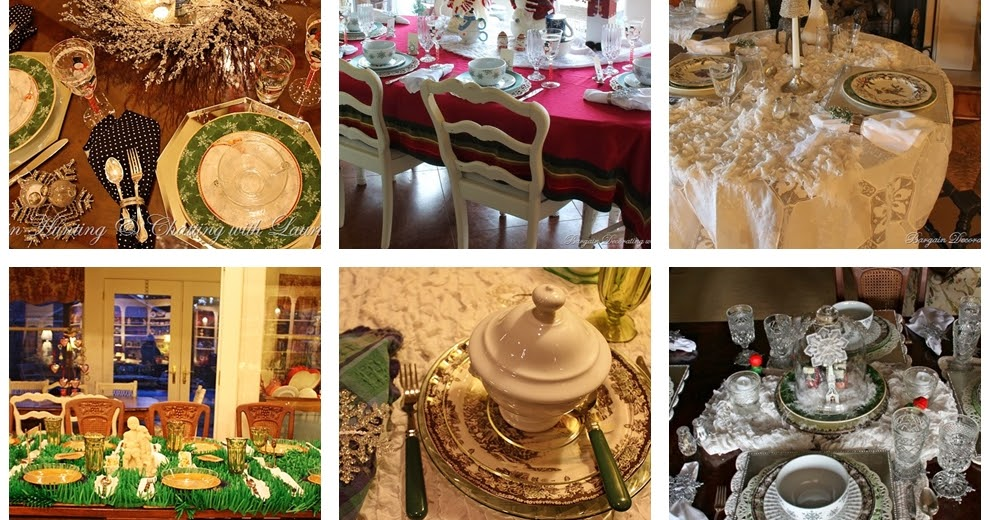 Bargain Decorating With Laurie Nine Winter Tablescape Ideas