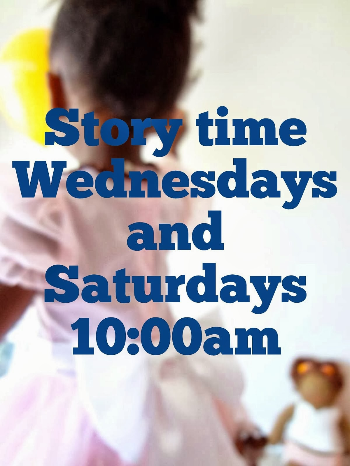 Weekly Story Time