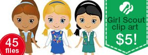 Big set Girl Scout graphics 45 png