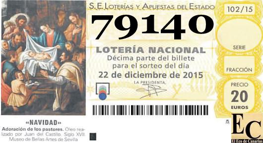 Almeria se lleva el gordo de navidad 2015