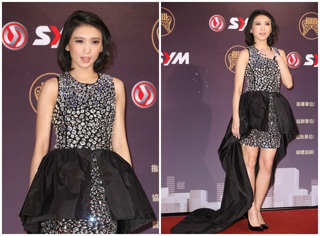 Golden Melody Awards 2014 Penny Tai 撞衫