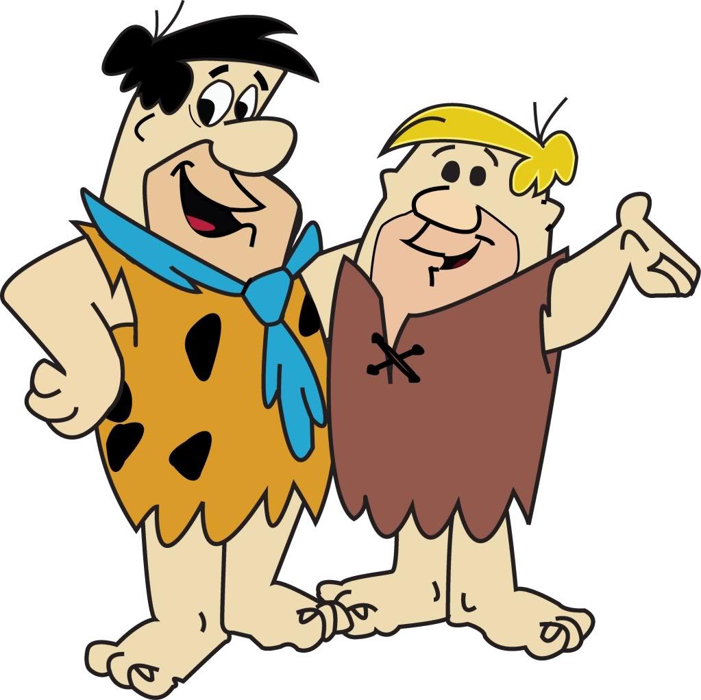 Mewarnai Gambar Flintstones %
