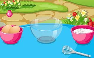 Permainan Didi Games Memasak Kue Coklat Keju