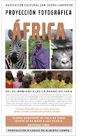 PROYECCION FOTOGRAFICA AFRICA - KILI