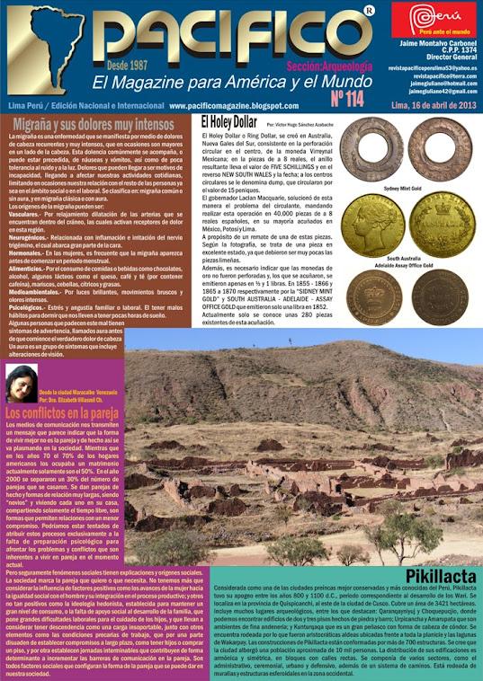 Revista Pacífico Nº 114 Arqueología