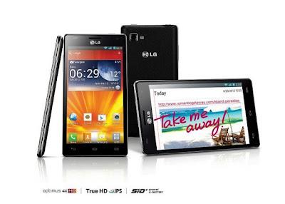 Harga dan Spesifikasi LG Optimus 4X