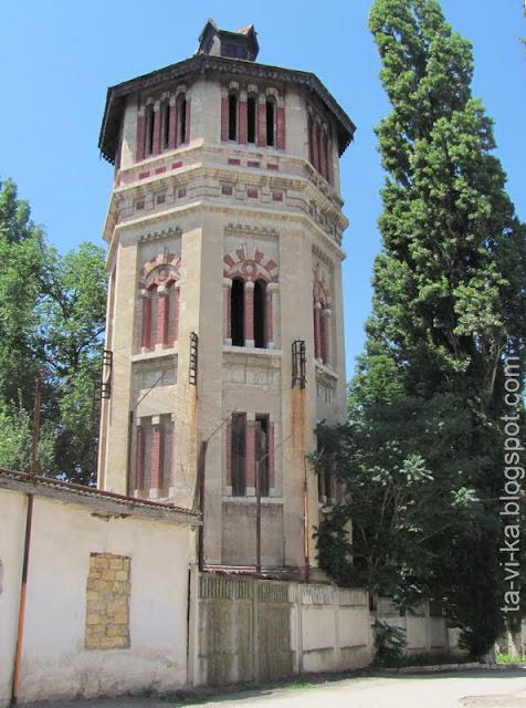 водонапорная башня Симферополь