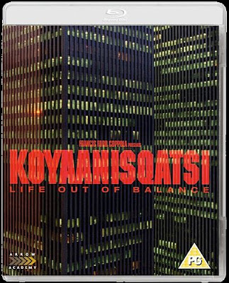 Koyaanisqatsi Blu-ray cover