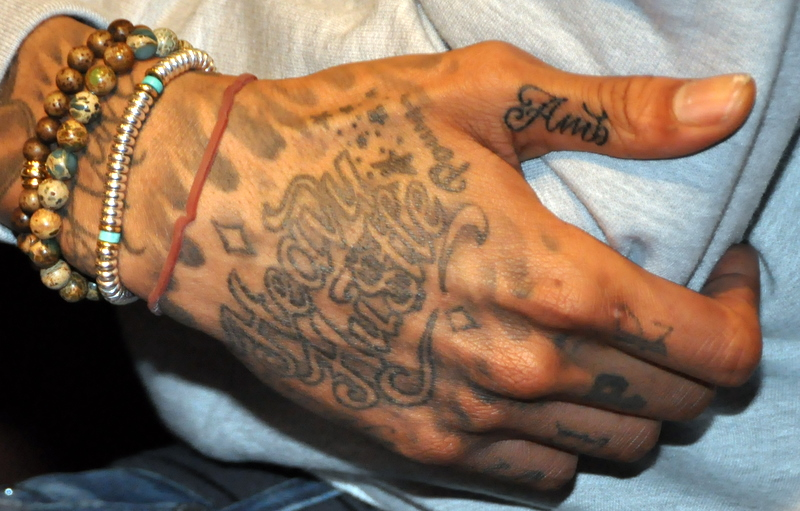 All wiz khalifa tattoos meanings amber rose face amp etc