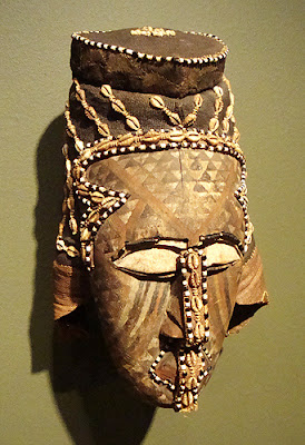 African Mask at the Michael C. Carlos Museum