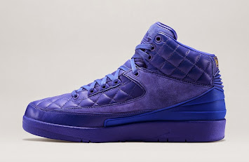 "Air Jordan 2 ""Quilted Blue"" - Release Date: Jan. 31st"