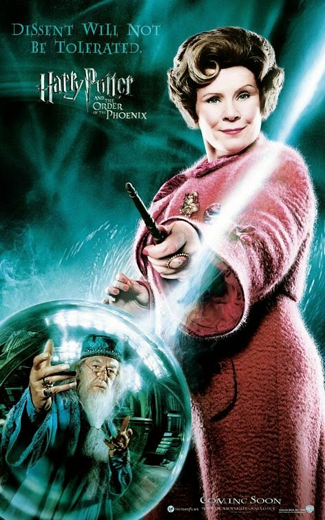 Harry Potter Order of Phoenix Dolores Umbridge poster