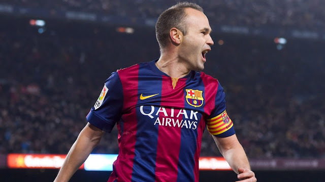 Andres Iniesta under threat of losing place in Barcelona XI