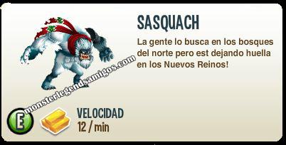 imagen de la descripcion del monstruo sasquach