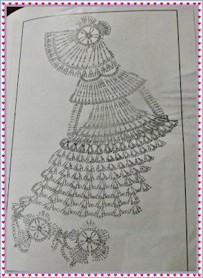 Boneca de Crochê com Gráfico