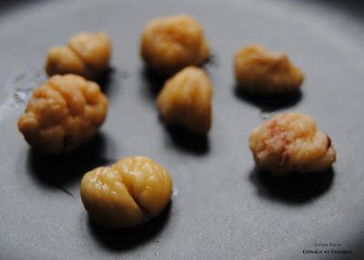 recette gateau aux marrons