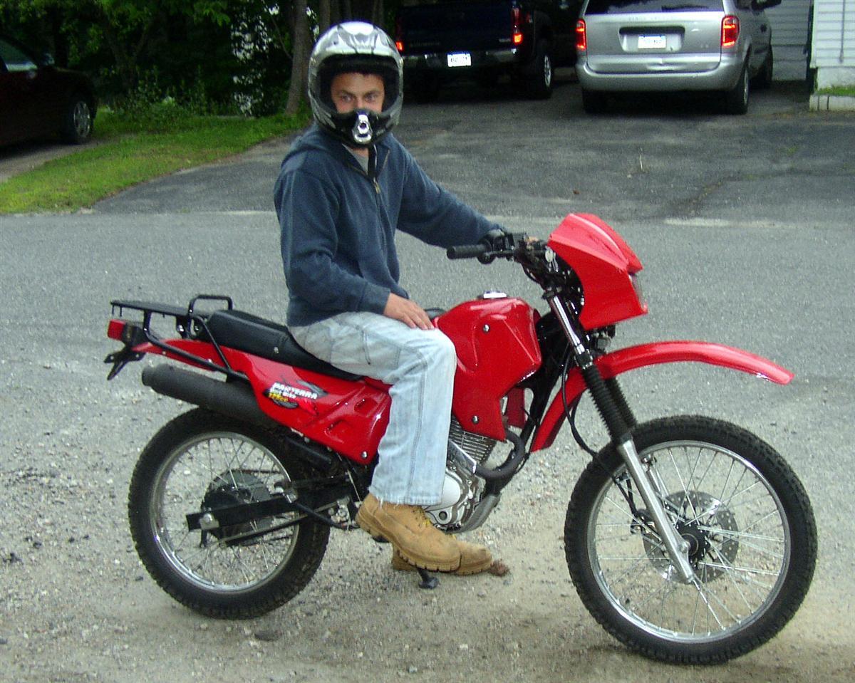 125cc dirt bikes pantera 125 enduro. Black Bedroom Furniture Sets. Home Design Ideas