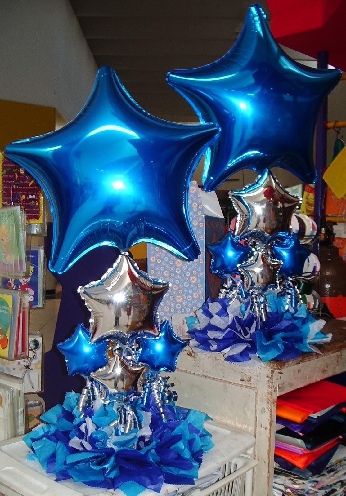 Cursos profesionales centros de mesa - Centros de mesa con globos ...