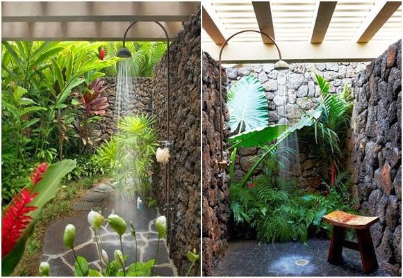 Marzua duchas de exterior para jard n y patio - Ducha para jardin ...