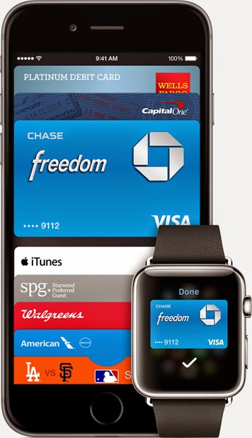 Apple Pay on Apple iPhone 6 and Apple Watch
